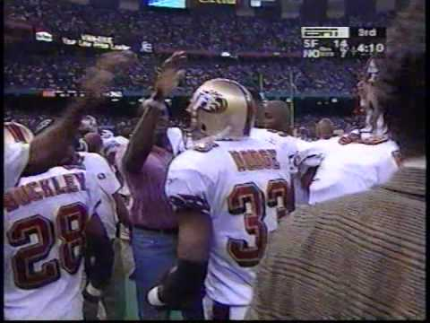 NFL Dexter Carter and Dedrick Dodge FSU 49ers doing their thang against the Saints
