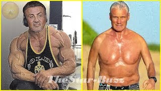 Sylvester Stallone Vs Dolph Lundgren Body Transformation 2019 In Real Life and Age - Then and Now