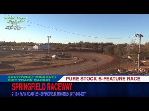 Pure Stock B Feature Race | Springfield Raceway | 10.29.17