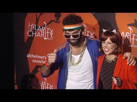 Michael Masini & Katrina Begin at Hilarity for Charity's 5th Annual LA Variety  Black Carpet