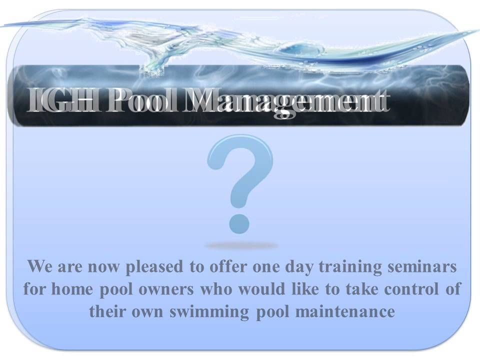 Swimming Pool Maintenance Training Course Youtube