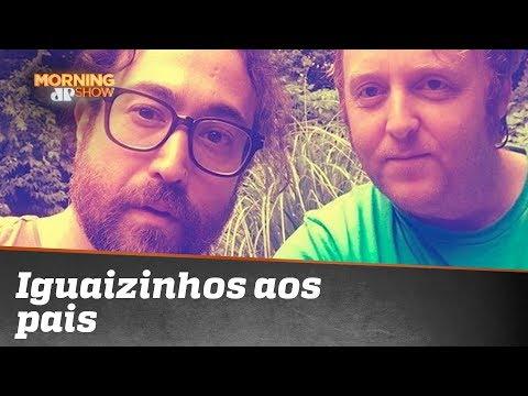 Filhos de John Lennon e Paul McCartney são idênticos aos pais