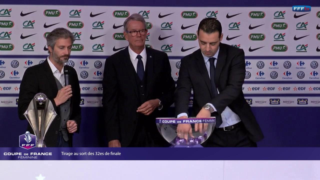 Coupe de france f minine tirage au sort des 32es de - Tirage au sort coupe de france 32 finale ...