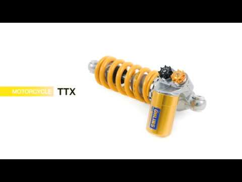 OHLINS SHOCK ABSORBER TTX36 GP DUCATI PANIGALE V4 / S / CORSE 2018-2020 video