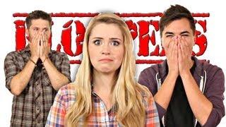 BLOOPERS! Lee Gets Norged! Elliott Freaks Out! SO FUN!!