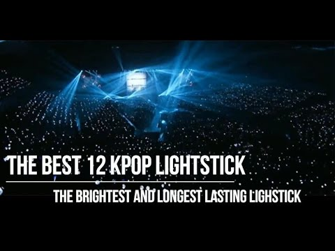 THE BEST 12 KPOP LIGHTSTICK ARE THE BRIGHTEST AND LONGEST LASTING