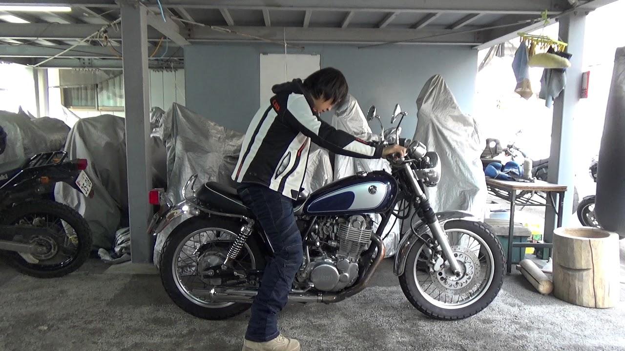 ヤマハSR400参考動画:デコンプ...