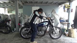 ヤマハSR400参考動画:デコンプなしキックの仕方
