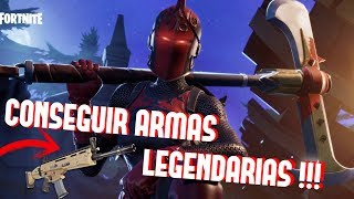 *HOW TO GET LEGENDARY WEAPONS IN FORTNITE BATTLE ROYALE* FORTNITE TIPS AND TIPS