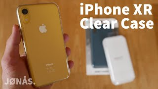 Das schlechteste Apple Produkt 2019 - iPhone XR Clear Case