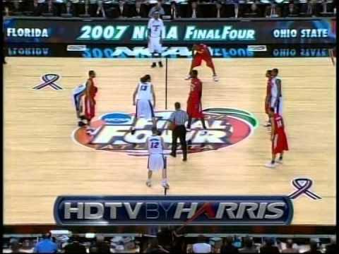 2007 NCAA National Championship Basketball Game-Ohio State vs. Florida