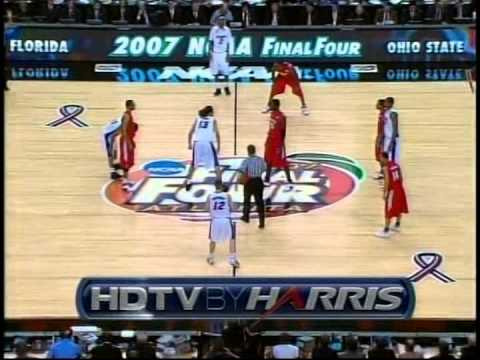2007 NCAA National Championship Basketball Game-Ohio State vs. Florida