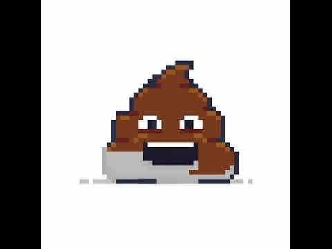 Pixel Bild Anleitung Kackhaufen Youtube