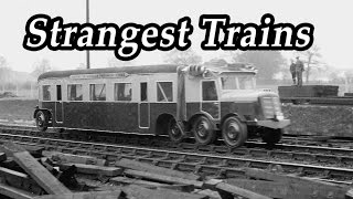 TOP 10 Weird Trains That Now Belong To The History Books Part 2. TOP TEN Strangest Steam Locomotive