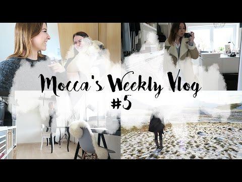 Mocca's Weekly Vlog 5 I Blogger Alltag, Büro umgestalten, Workshop