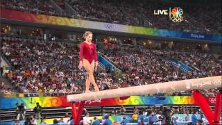Shawn Johnson - Balance Beam - 2008 Olympics All Around