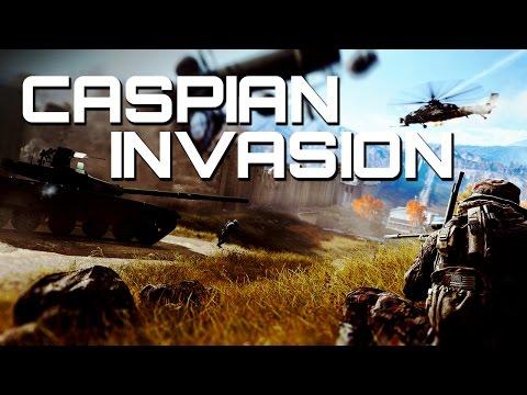 Battlefield 4: Caspian Invasion - 64 Player Conquest
