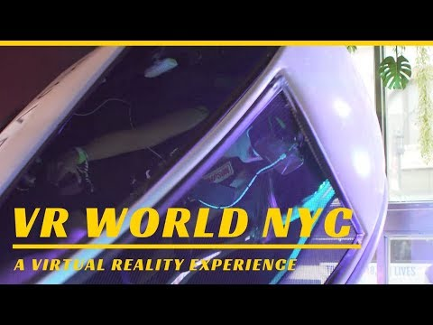 VR World NYC: A Virtual Reality Experience - YouTube