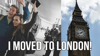 I MOVED TO LONDON!!!   Semester Abroad