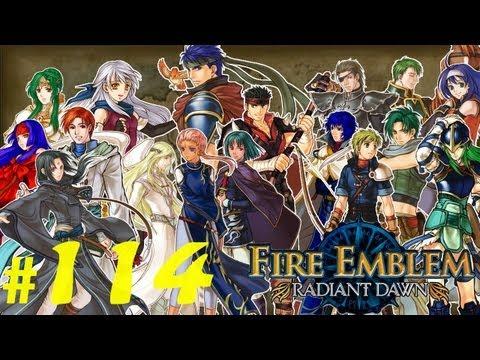 Let's Play Fire Emblem Radiant Dawn #114 La soeu-soeur !