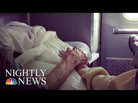 Ambulances Scramble To Evacuate Sick And Elderly Before Hurricane Florence Hits | NBC Nightly News