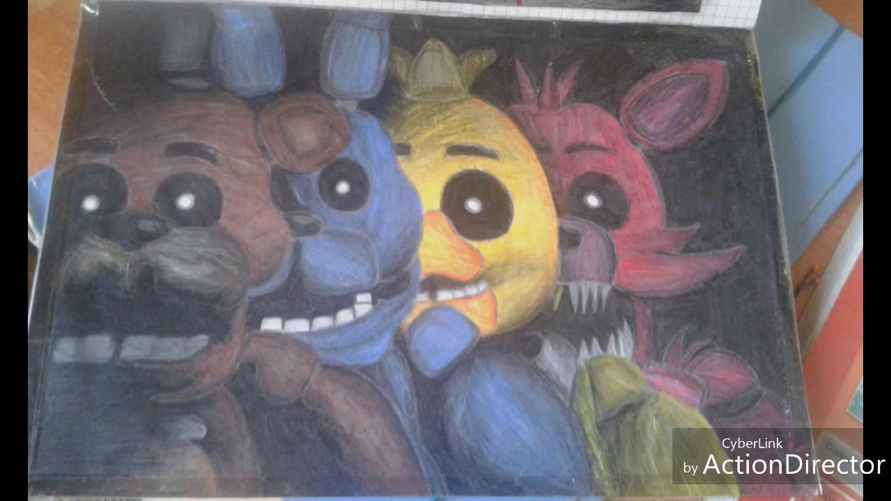 I miei disegni preferiti di fnaf youtube for Disegni di lupi da stampare