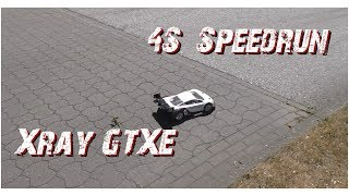 Speedrun: Xray GTXE 87,7km/h | 2350KV 4S | Corally | Full HD | German