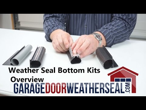 Weather Seal Bottom Kits Overview