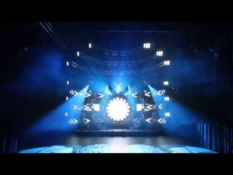"New SHOWTEC Time Coded Lightshow (Highlite Dealerdays sept 14) Music: Muse - ""Supremacy""."