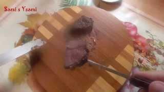 Рецепт очень вкусной и нежной говяжьей печени