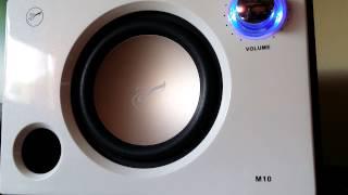 HIVI Swans M10 Sound Test