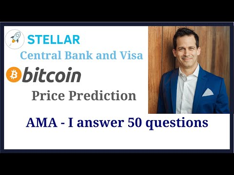 Stellar Network: Visa & Central Banks, Bitcoin (BTC) price predictions, and then I took questions