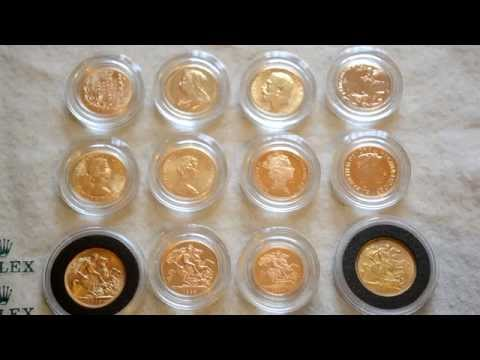 My Gold Sovereign Collection