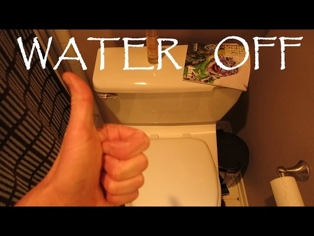 How To Shut Off The Water To Your Toilet – In An Emergency Or Leak Overflow
