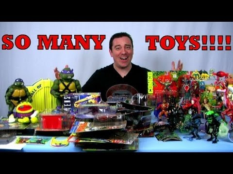 Look at my Stuff! - C2E2 2014 and Kane County Toy Show Haul