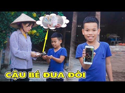 Đua Đòi Nói Dối Mẹ Lấy Tiền Mua Điện Thoại ❤ Con Nhà Giàu Con Nhà Nghèo - Jun Jun TV