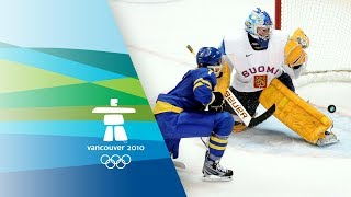 Finland vs Sweden - Women's Ice Hockey - Bronze Medal Game  - Vancouver 2010 Winter Olympic Games