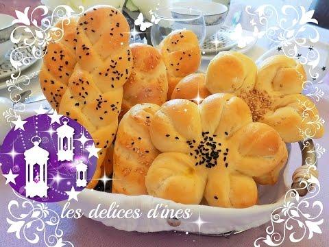 ramadan-2020-🕌🌙-recette-pains-fleurs-et-tresse