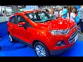 2016, 2017 Ford EcoSport TOP model, video review