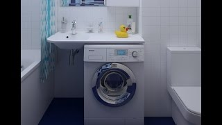 Раковины над стиральной машиной - Сантехникс.ру(, 2013-05-28T12:55:20.000Z)