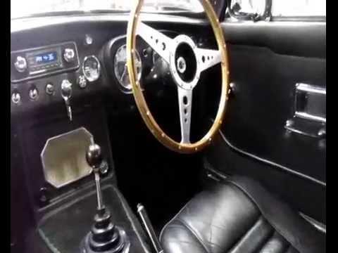 easysteer mgc gt mgb electric power steering conversion eps - YouTube