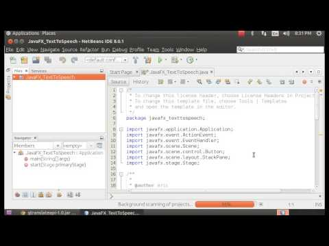 JavaFX With Text-to-speech, With Java-google-translate-text-to-speech