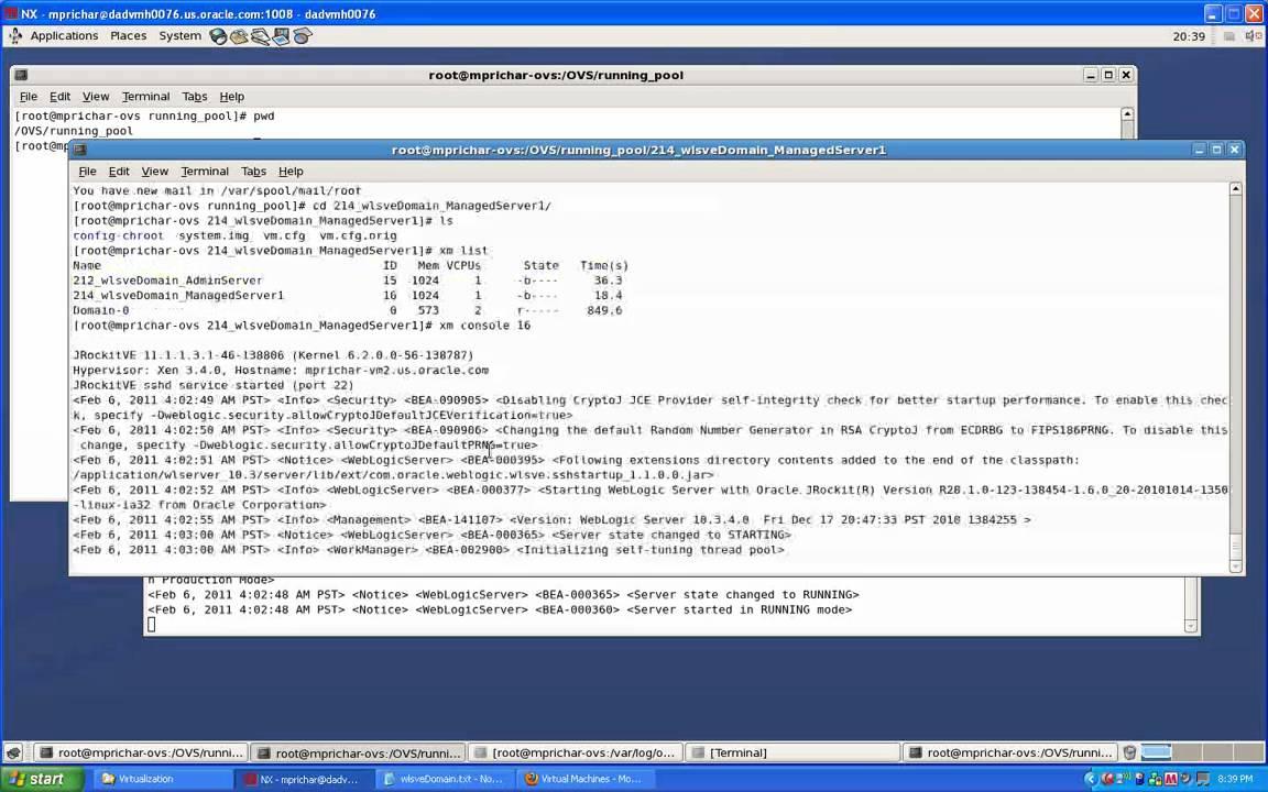 Weblogic server advantage edition.