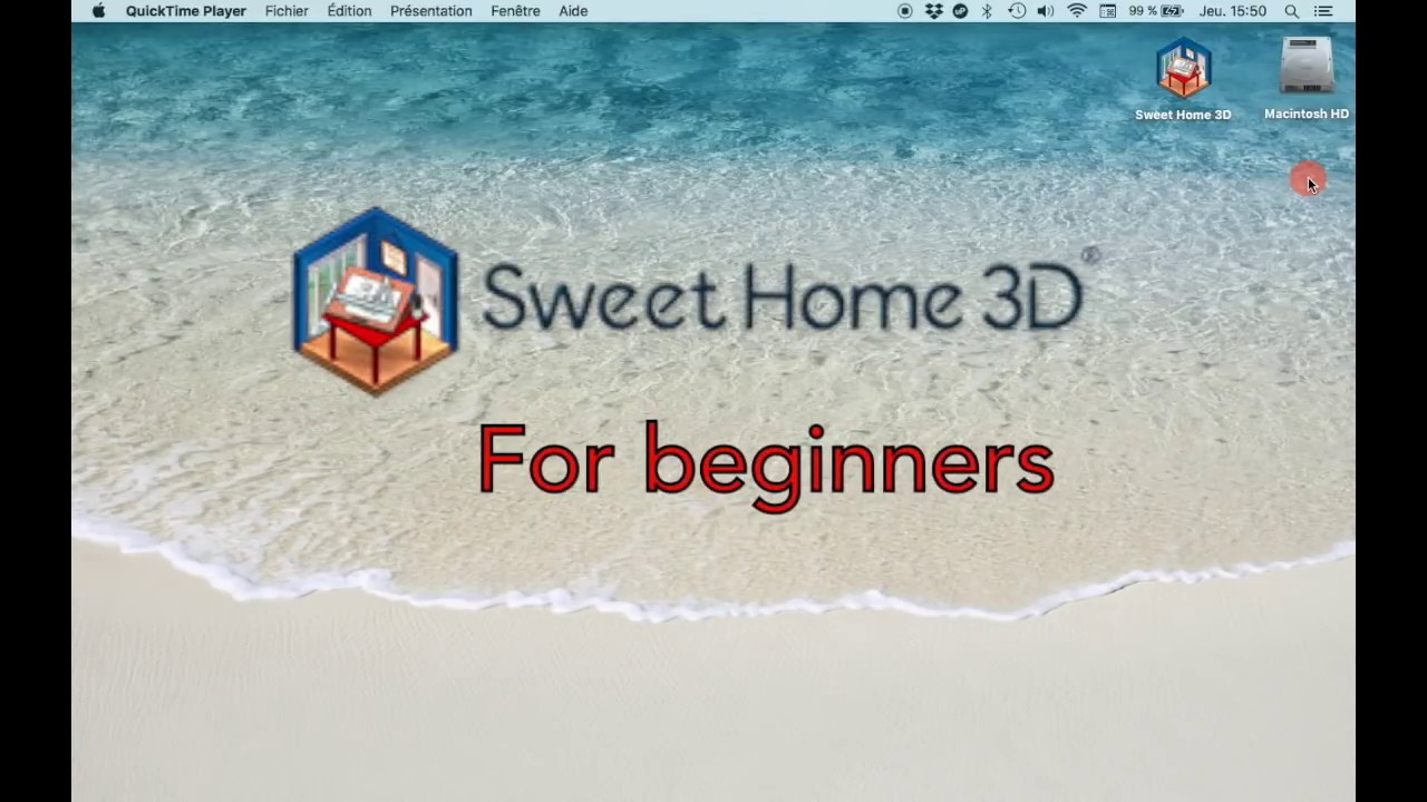 Sweet Home 3d For Beginners Youtube