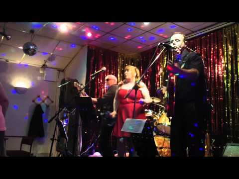 "The Retrobeats - ""Do wah diddy"" and ""Viva Las Vegas"" at Briercliffe SC, Burnley, April 2014"