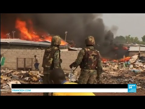 Ghana: clashes between police and protesters after the destruction of their homes