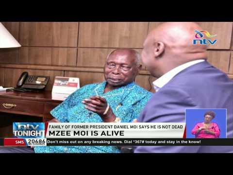 Former president Daniel Moi is not dead, says family
