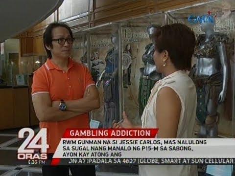 24 Oras: Jessie Carlos, mas nalulong sa sugal nang manalo ng P15-M sa  sabong, ayon kay Atong Ang