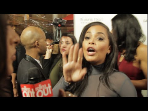 Lauren London Cuts Her !  Gets upset with Producer