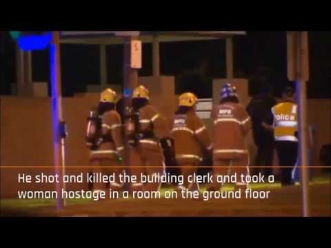 BREAKING: Gunman killed as police rescue hostage in Melbourne Australia